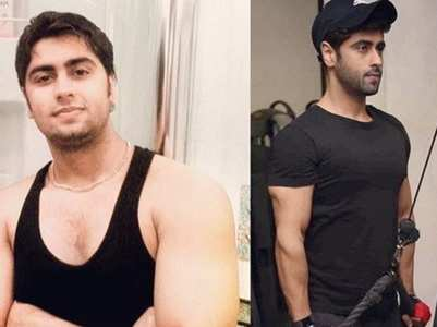 Actor Ankit Gera shares weight loss photos
