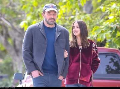 Ben-Ana go on a dog walk with actor's kids