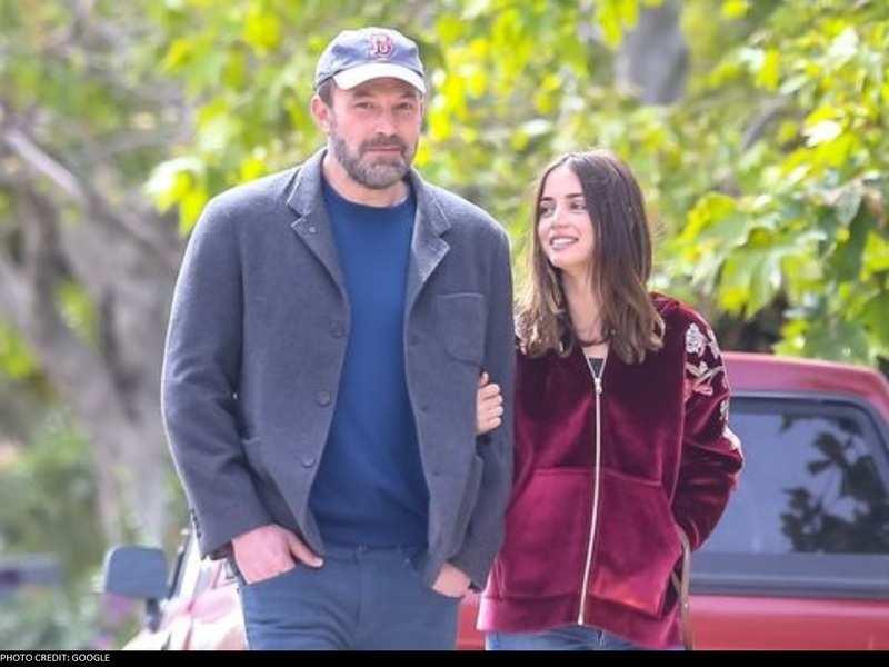 Ben Affleck and girlfriend Ana de Armas bond with the actor's three kids over a dog walk