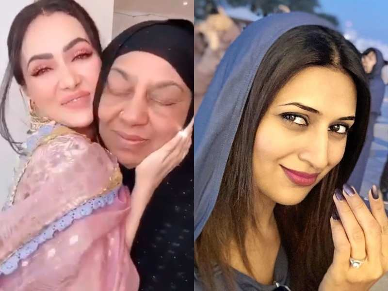 Sana Khan, Divyanka Tripathi and other TV celebs wish their fans on Eid with adorable photos, videos