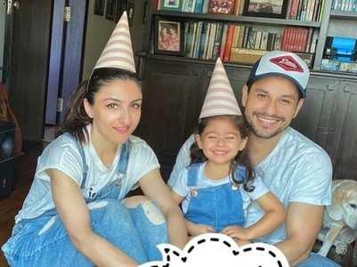 Soha pens a sweet birthday wish for Kunal