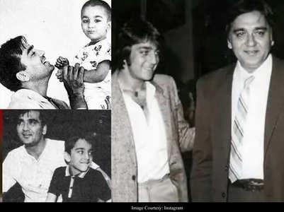 Photos: Sanjay misses dad Sunil Dutt