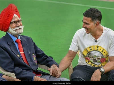 Akki mourns hockey star Balbir Singh's demise