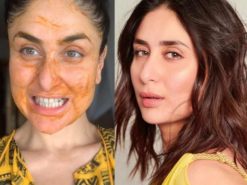 Kareena Kapoor Uses This Desi Face Mask Recipe For Her Glowing Skin Times Of India
