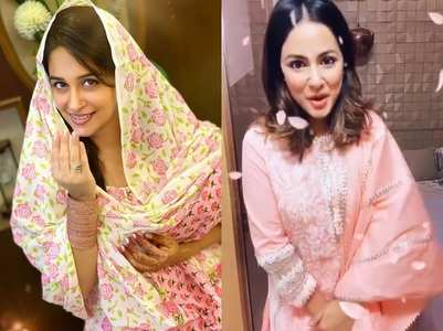 Actors celebrate Eid with family and good food