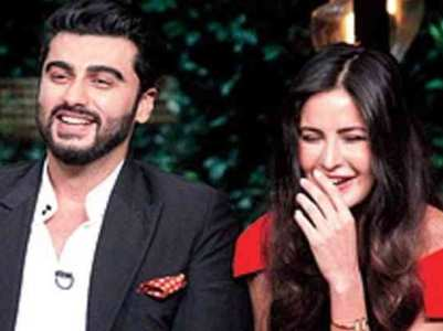 Arjun trolls Kat as mango season arrives