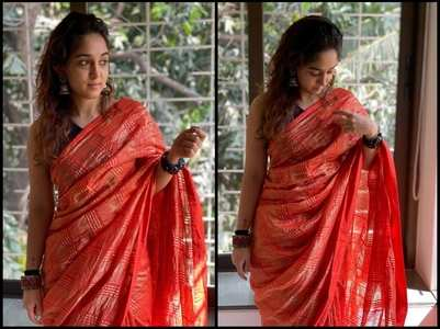 Eid 2020: Ira looks stunning in a saree