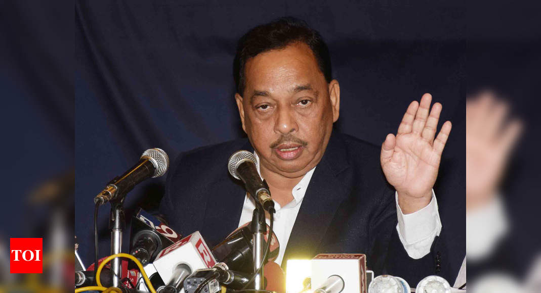 Narayan Rane demands imposition of President's rule in Maharashtra | India News – Times of India