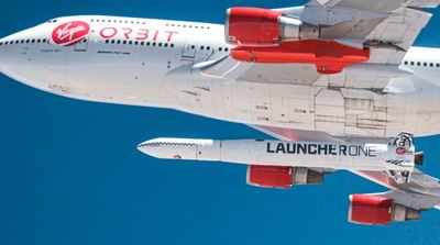 Billionaire Richard Branson's Virgin Orbit Co. fails first rocket launch attempt
