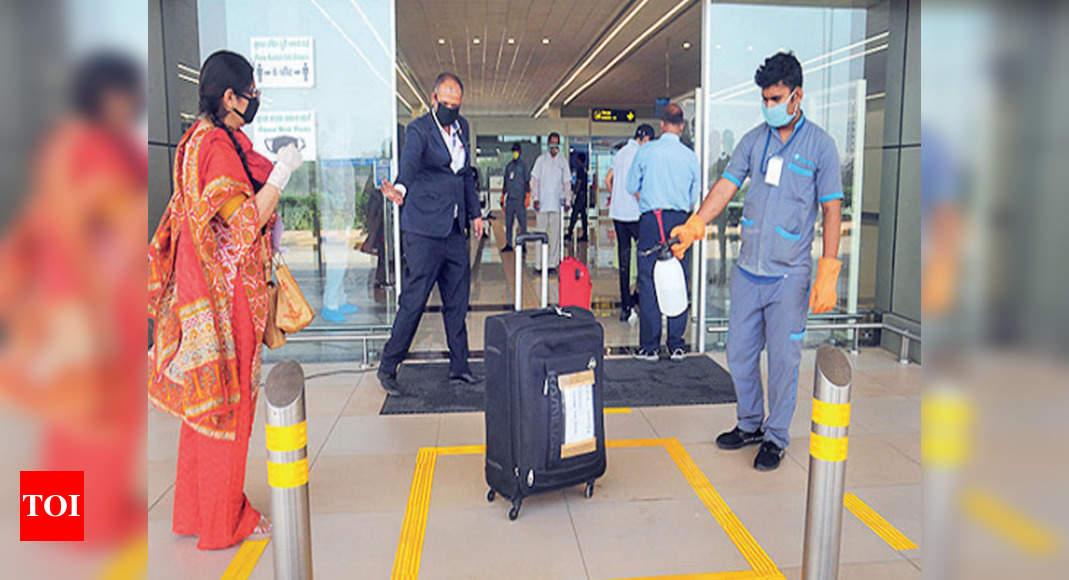 Flight services resume at Hindon civil terminal