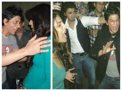 SRK-PC during 'Don 2' promotions