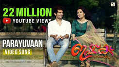 Watch Popular Malayalam Hit Song Music Video 'Parayuvaan' From Movie 'Ishq' Sung By Sid Sriram And Neha S Nair Featuring Shane Nigam And Ann Sheetha