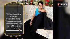 I am quite like my on-screen character Paaru, says Mokshtiha Pai