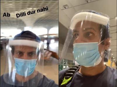 Karanveer Mehra shares his flight experience