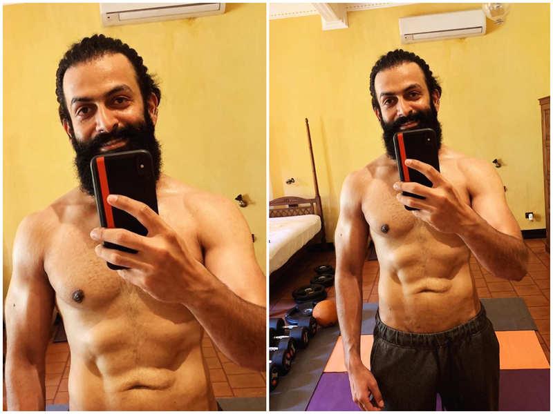 'Human body has its limits… the human mind doesn't,' says Prithviraj Sukumaran sharing his latest click