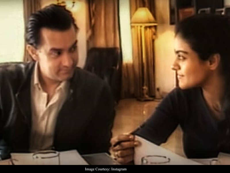 Kajol shares an UNSEEN throwback from the sets of 'Fanaa' and it is all things memorable!