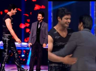 When SRK praised Sidharth for being 'shareef'