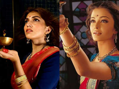 Shruti recreates famous B'wood looks; in pics