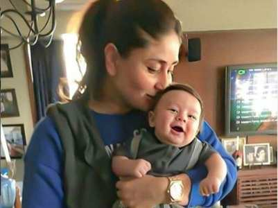 Bebo, Taimur's throwback pic is unmissable