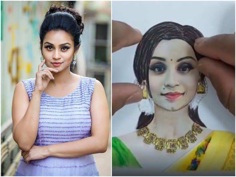 Watch: Star Magic host Lakshmi Nakshathra is all praises for a special art video made by her fan