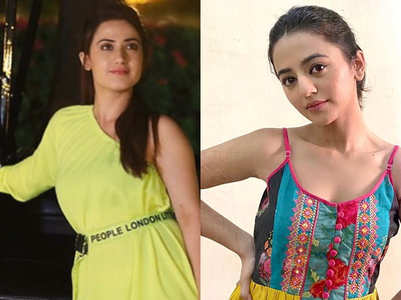Aalisha, Helly slapped boys in school days?