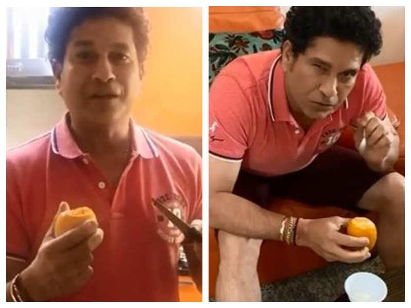 Watch: Sachin Tendulkar turns chef, makes Mango Kulfi for family