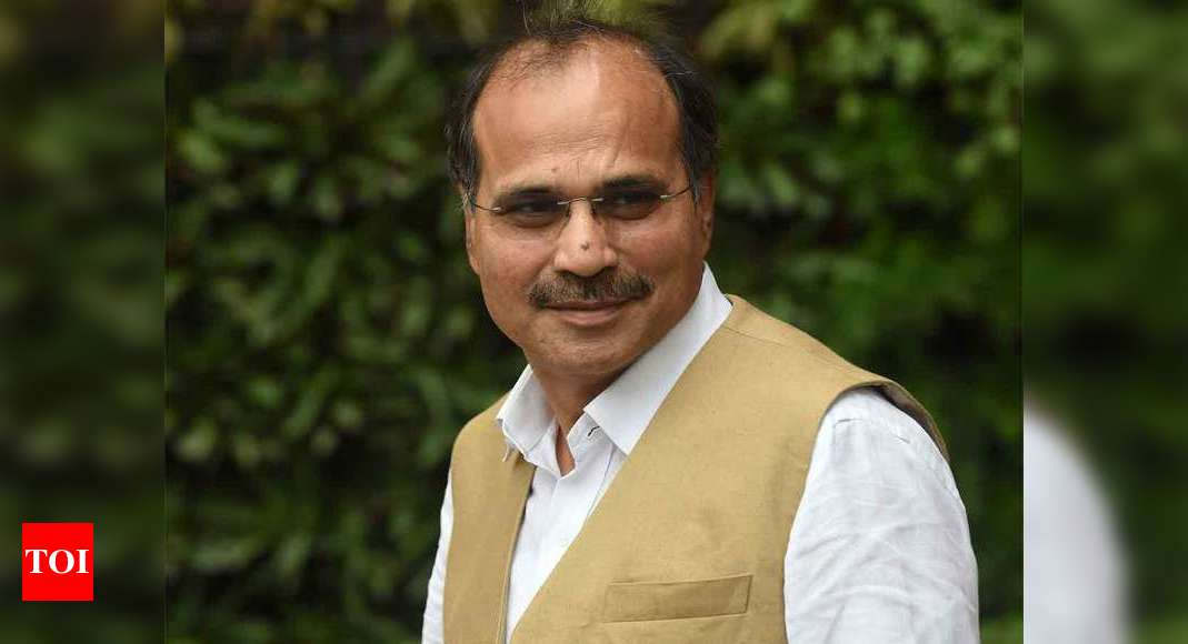 China trying to change LAC through intrusion: Adhir Ranjan Chowdhury | India News – Times of India