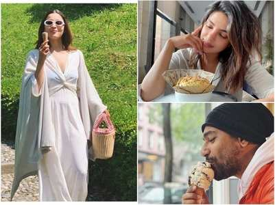 THESE stars love to binge on ice-cream!