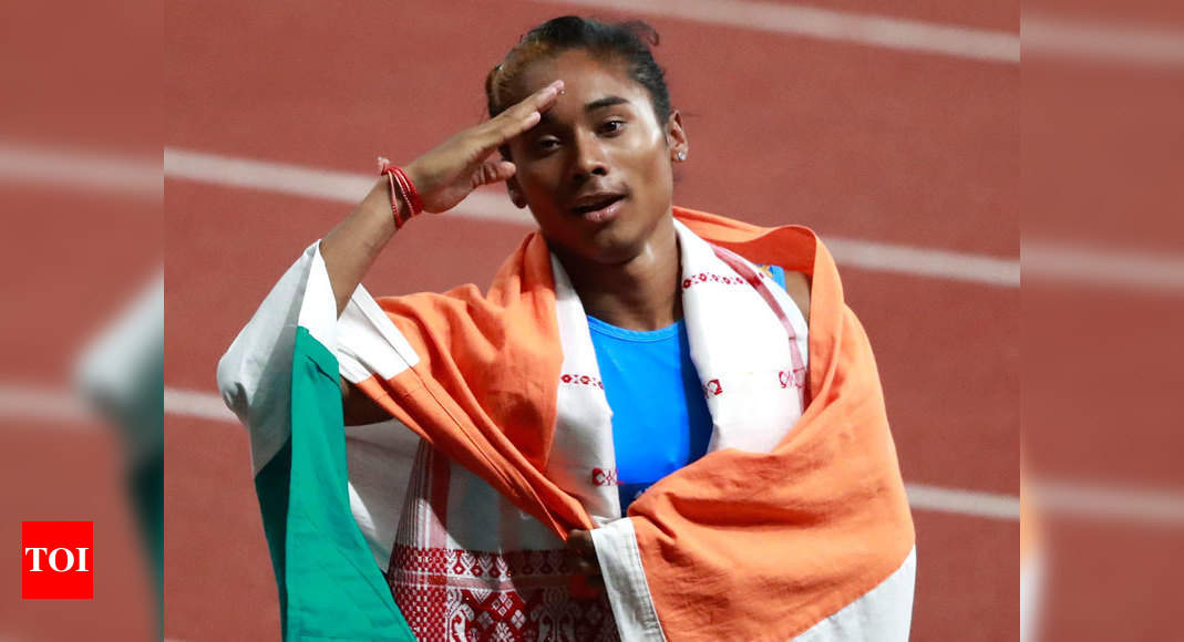 Missed track badly during lockdown, IOC was right in postponing Tokyo Olympics: Hima Das – Times of India