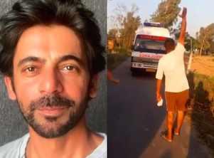 Sunil Grover shares fun video of Punjab village