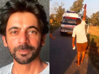Sunil Grover shares fun video of Punjab village