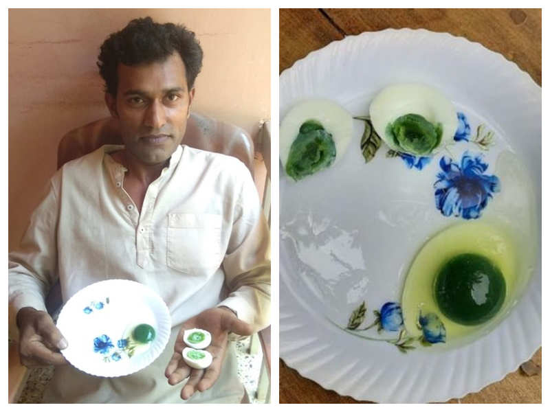 Chickens lay eggs with green yolks in Kerala, mystery intesifies