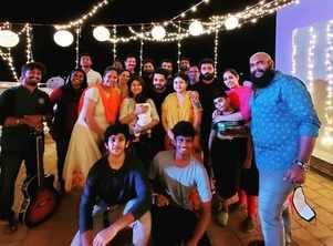 Sanjeev-Alya celebrated their special day