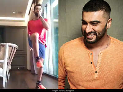 Arjun comments on Virat's workout video