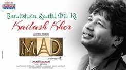 Watch New Hindi Sufi Song Music Video Lyrical - 'Bandhishe Khathil Dil Ki' Sung By Kailash Kher Featuring Rajath Raghav And Spandana Palli