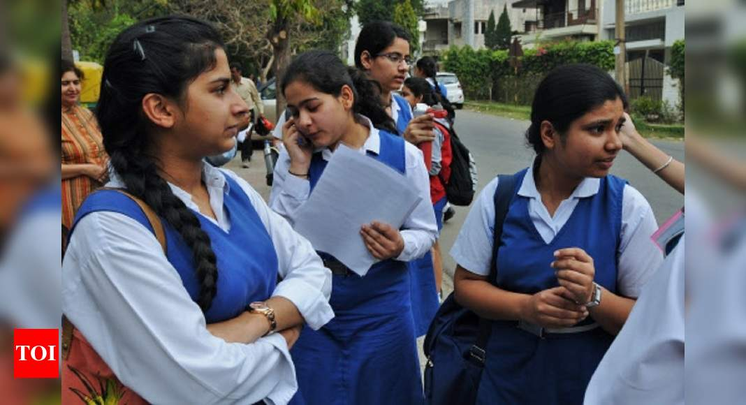 CBSE students can take board exam from their current district – Times of India