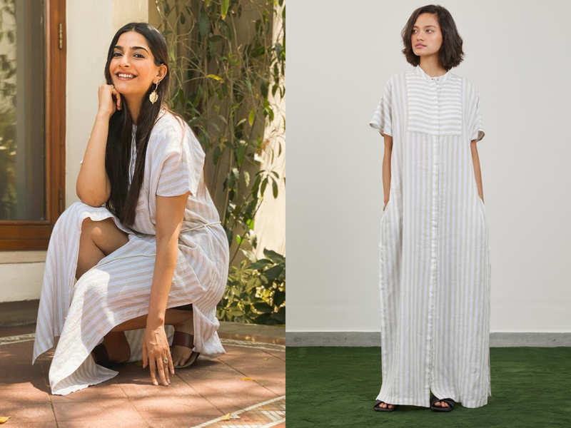 Sonam Kapoor's white 'balcony dress' is so affordable, we are buying it post lockdown