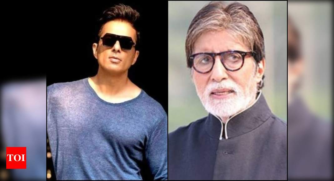Sonu Sood's humble response is winning the internet after a fan compares him to Amitabh Bachchan – Times of India