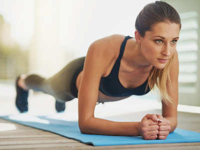 Not able to hold the plank position? Here is how you can fix it