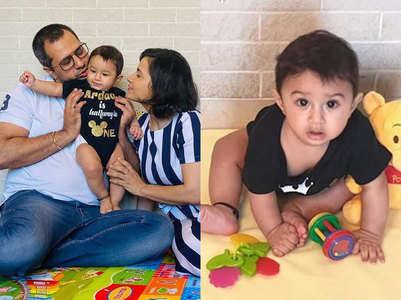 Priya Ahuja's son turns 6 months old