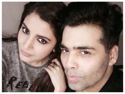 Anushka Sharma on KJo dying his grey hair