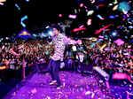 When musician Sanjith Hegde entertained music lovers