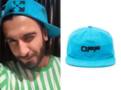 Trending: Ranveer Singh's cap