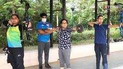 Jaipur's athletes put on masks, resume training sessions