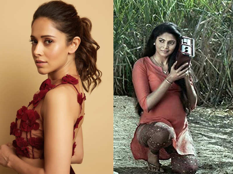 Nushrat Bharucha and Pooja Sawant in a poster of the film