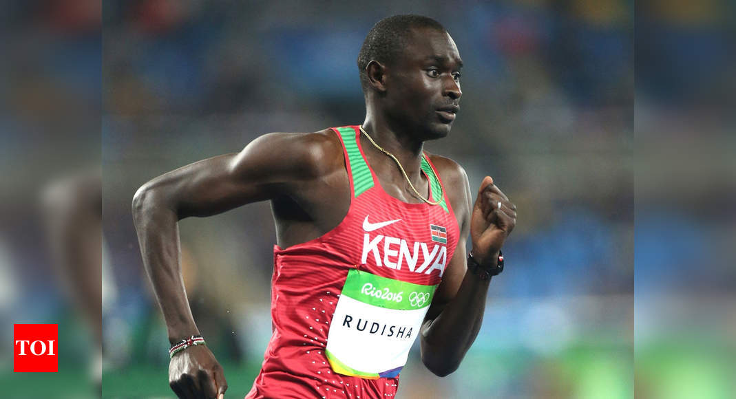 Olympic champion Rudisha out for 16 weeks after ankle fracture | More sports News – Times of India