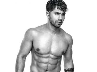 Fans in awe of Varun's old shirtless picture