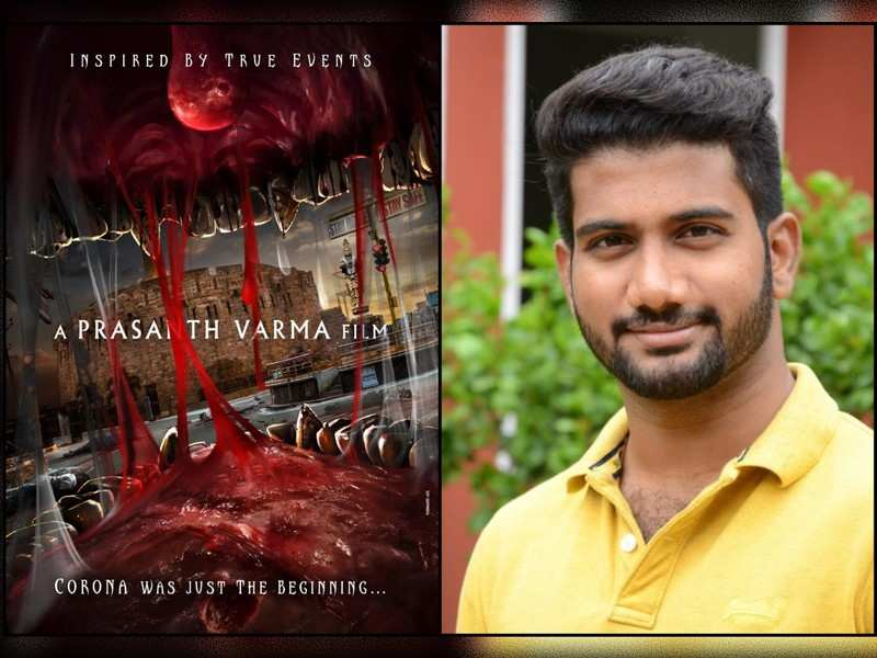Prasanth Varma's third film #PV3's pre-look hints at a monster tale