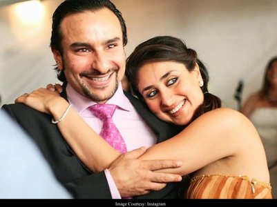 Bebo-Saif at Amrita Arora's wedding