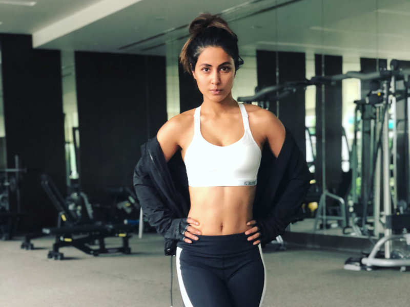 Hina Khan's colourful workout clothes will inspire you to exercise in style!